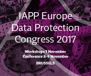 Wizuda are attending the IAPP Europe Data Protection Congress 2017
